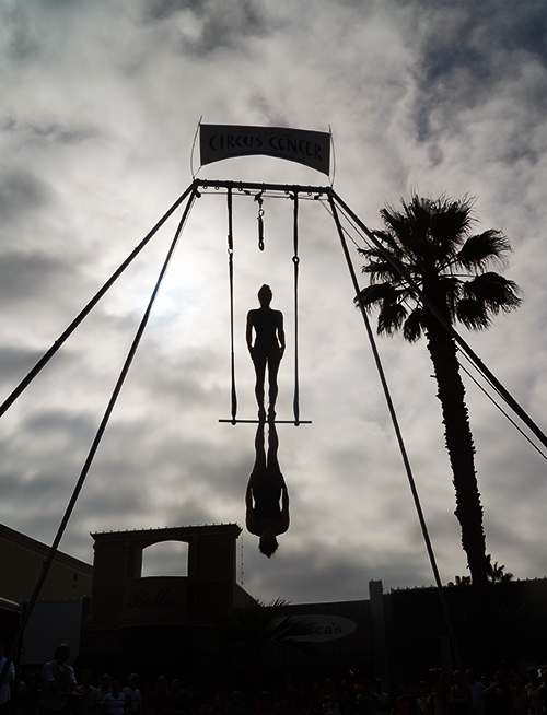 La Jolla art and Wine Festival and San Diego Circus Center