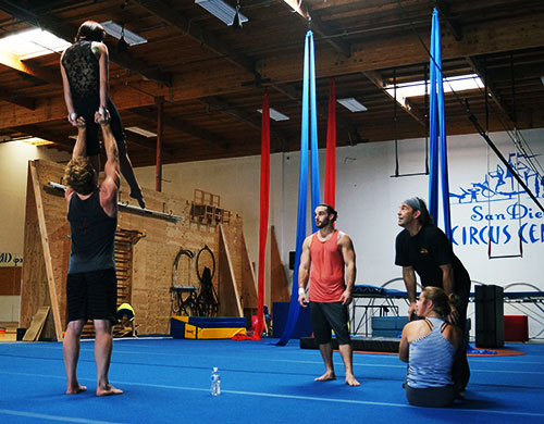 Training with Pippin Cast